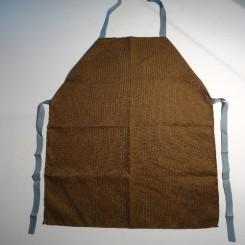 Rygeforklæde Dess.10 Brun (KUN HÅNDVASK)