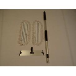 Dess.Rengøringssæt microfiber moppe