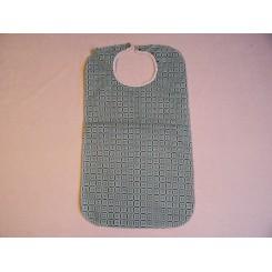 Dess.4580/G Spisestykke Grøn med hvidt mønster.